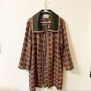 M Missoni Metallic Knit Coat